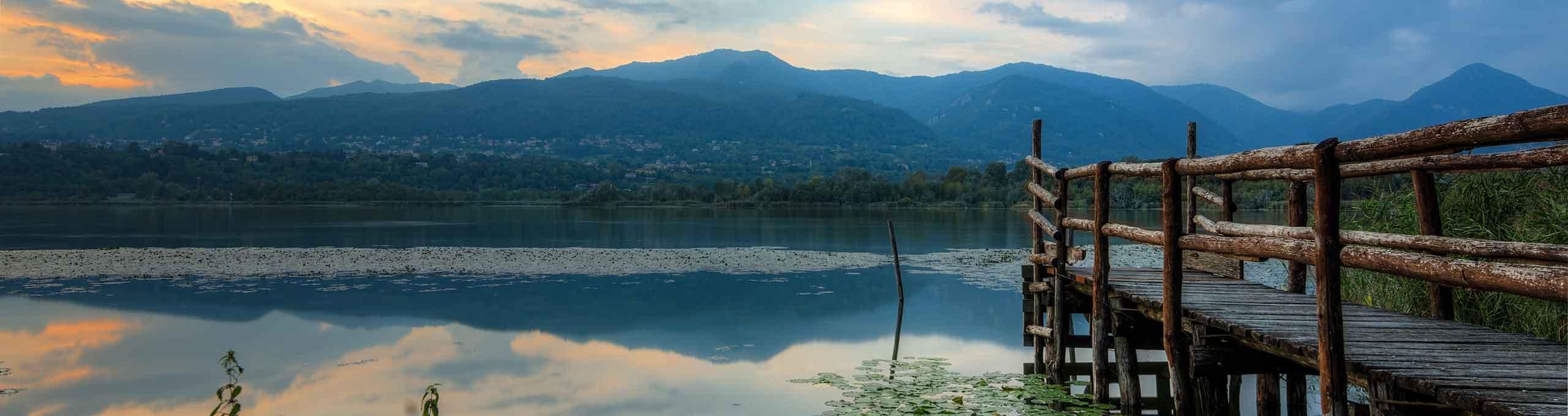 Monguzzo, Lago di Como