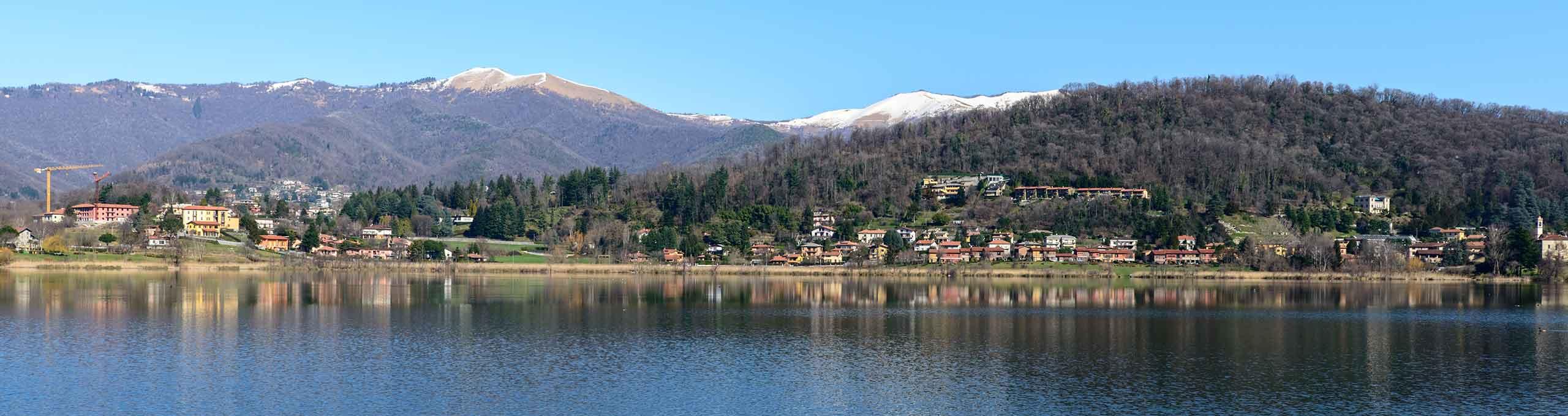 Montorfano, Lago di Como