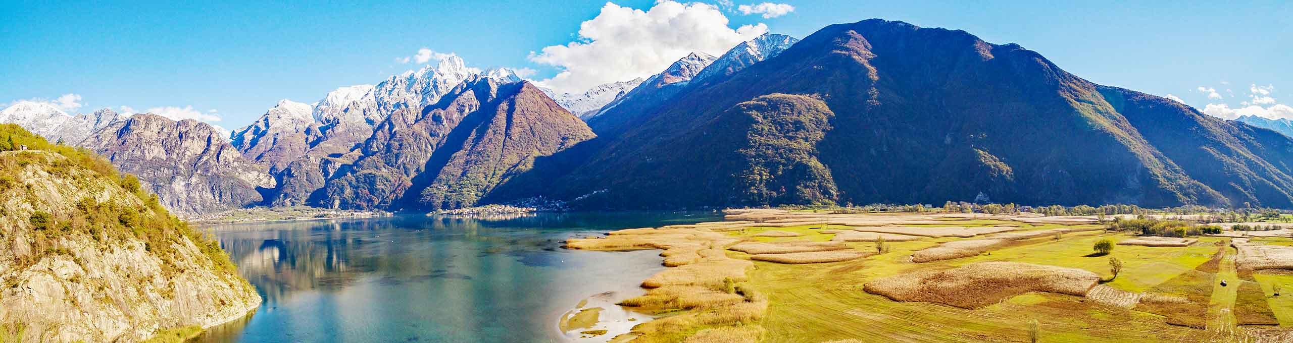 Novate Mezzola, Valtellina, Riserva Naturale Pian di Spagna