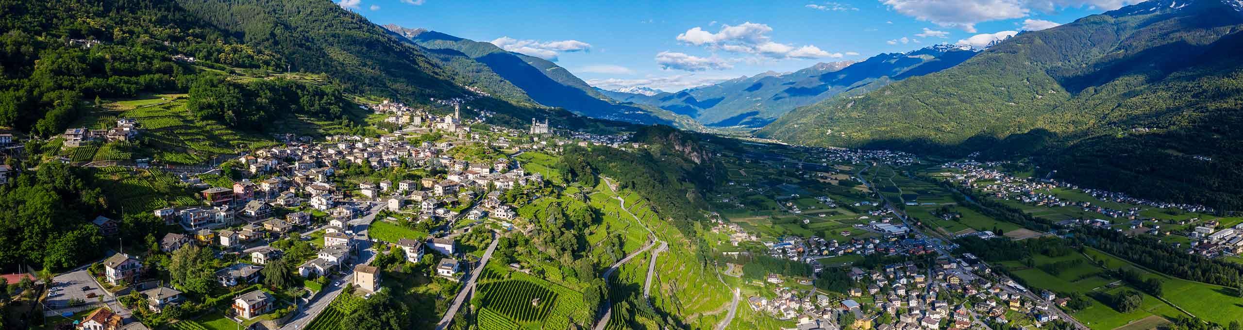 Poggiridenti, Valtellina