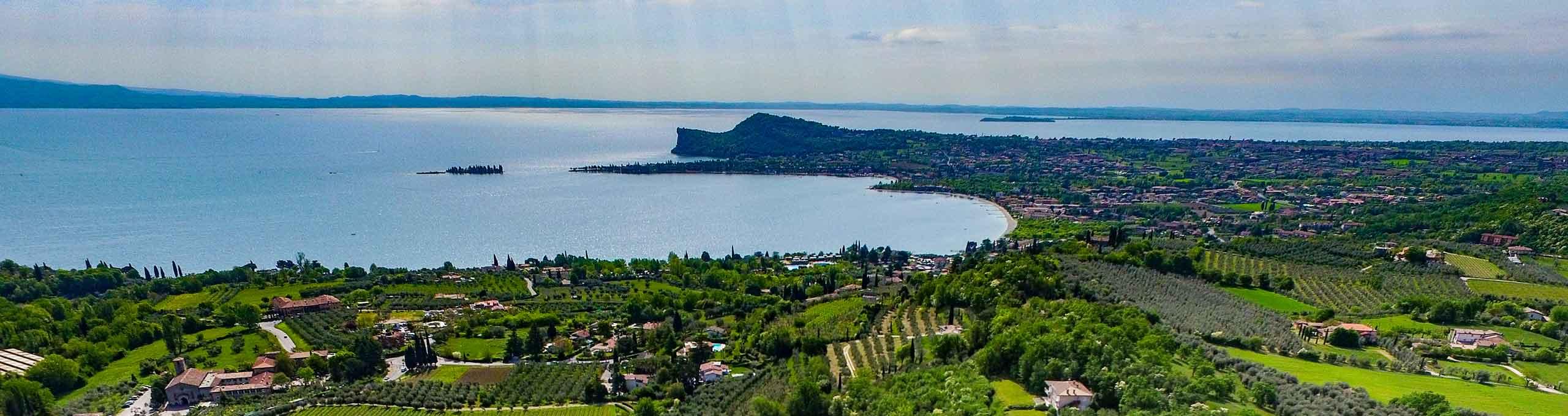 Vista sul Lago di Garda, San Felice del Benaco