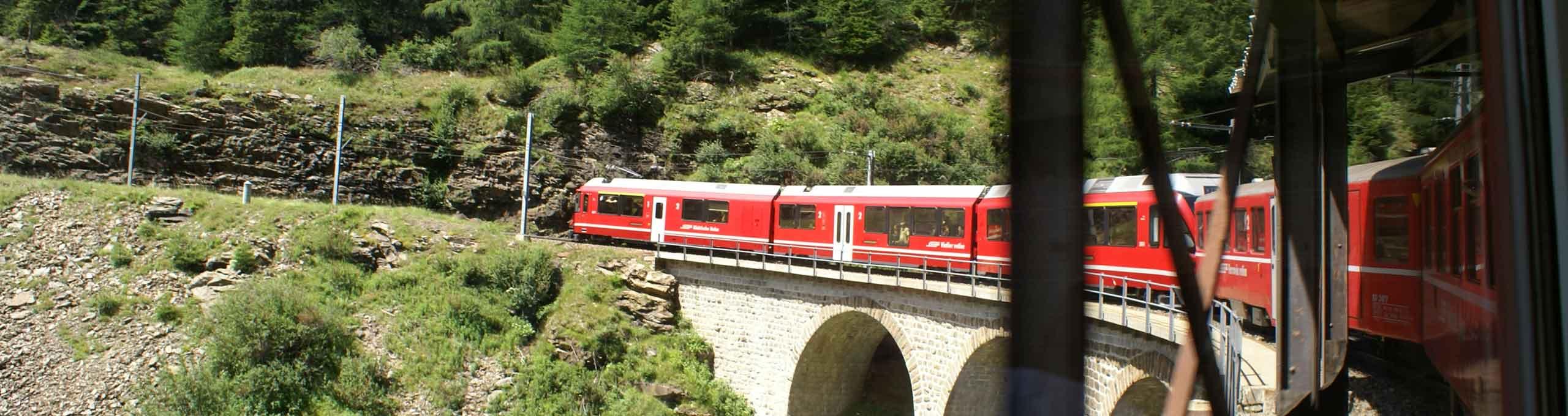 Tirano, Valtellina, trenino rosso