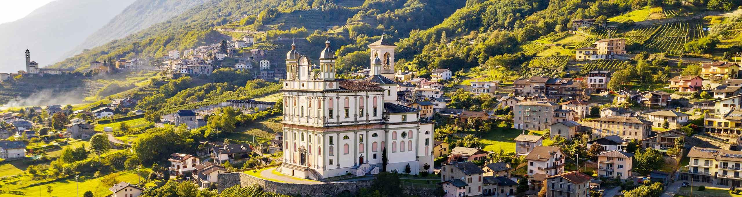 Tresivio, Valtellina, Santuario di Santa Casa Lauretana