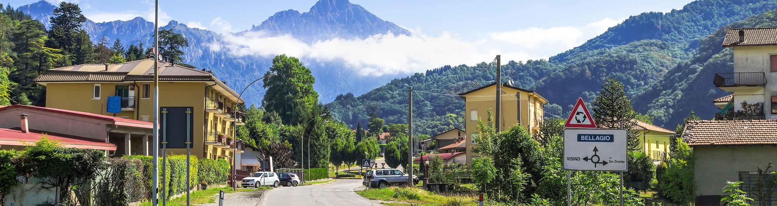 Valbrona, Lago di Como
