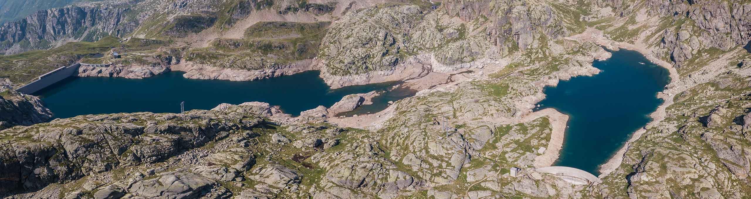 Valgoglio, Valseriana, laghetti alpini