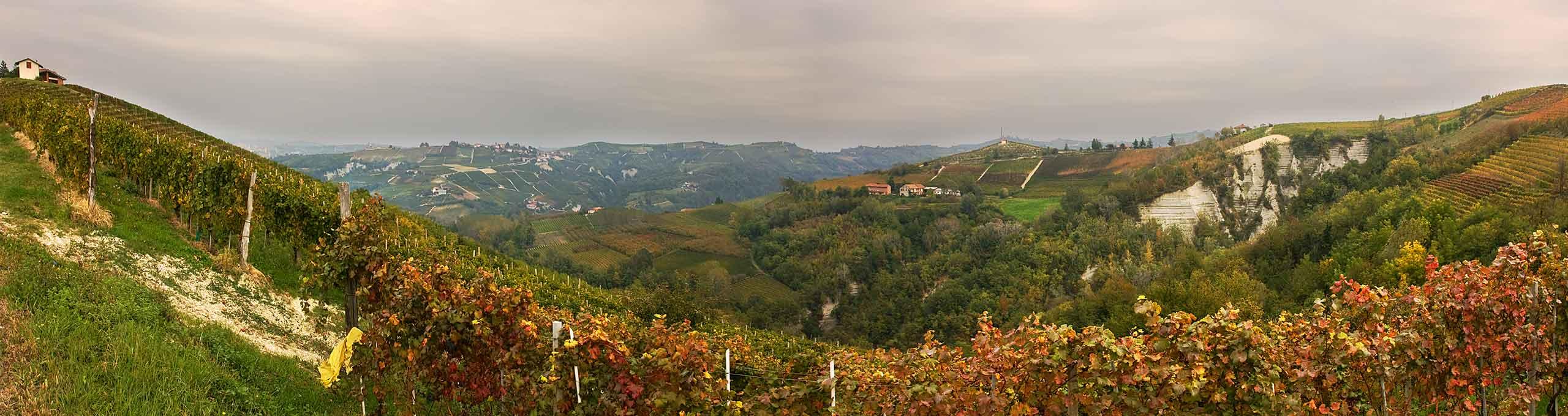 Borgomale, zona alta delle Langhe