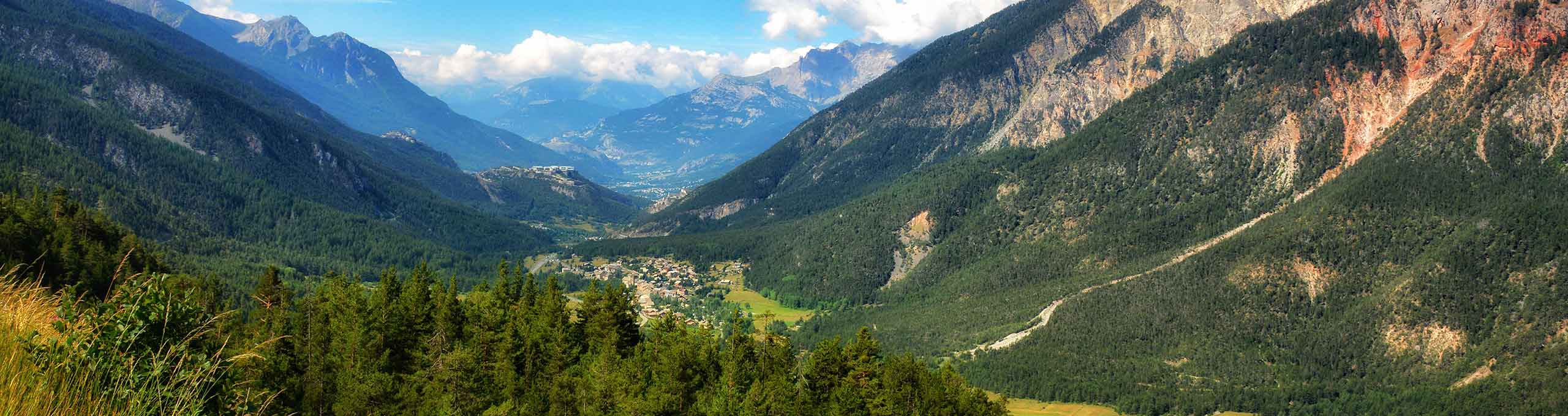 Cesana Torinese, alta Val Susa e Chisone