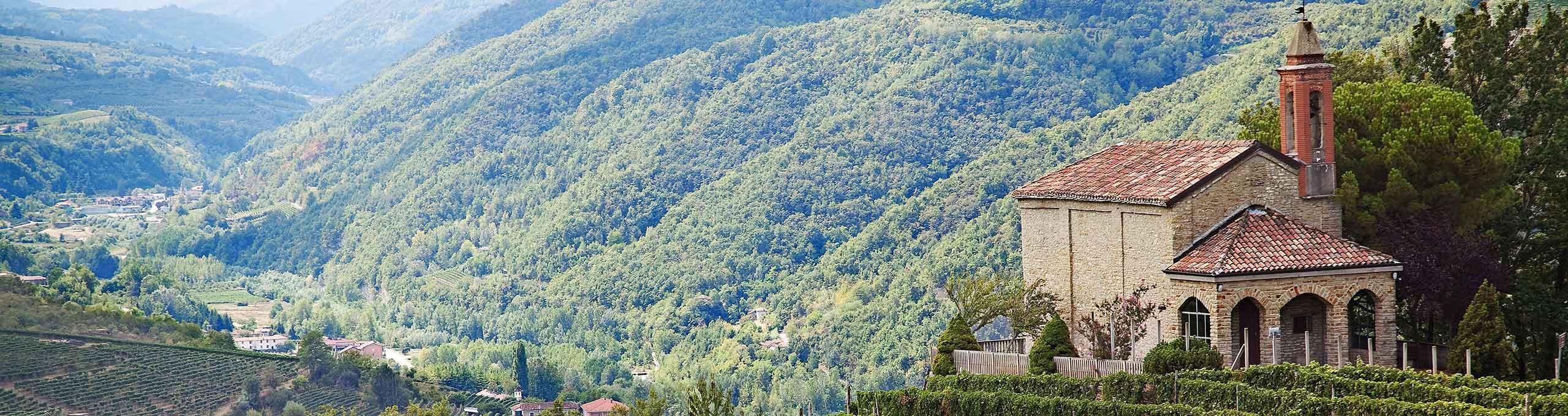 Cossano Belbo, zona alta delle Langhe