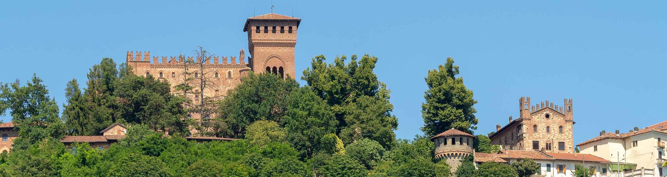 Gabiano, basso Monferrato, Castello di Gabiano