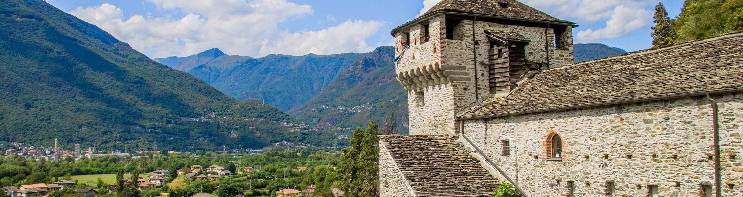 Vogogna, Val D'Ossola, Castello Visconteo