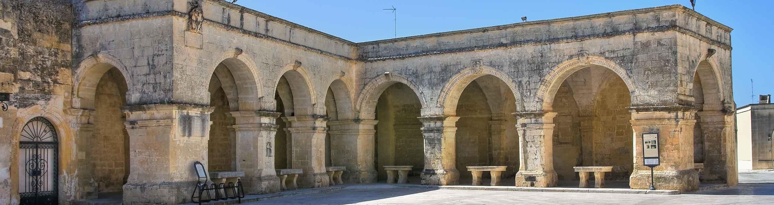 Melpignano, Salerno, arcate di San Giorgio