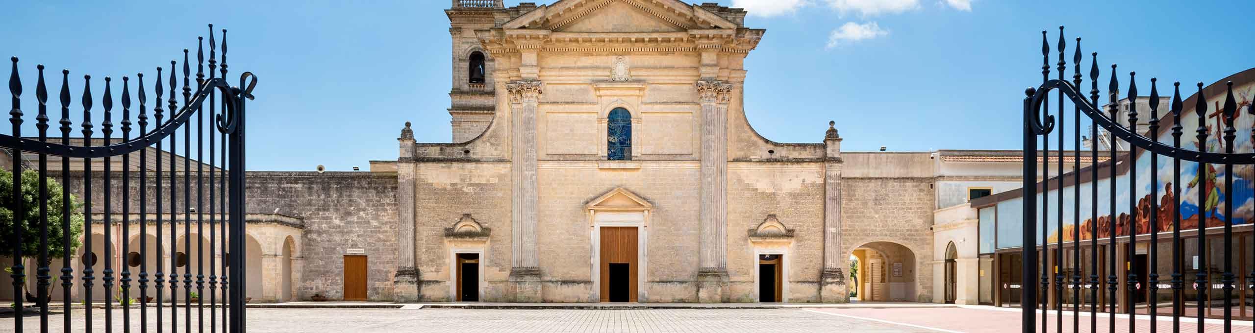 Oria, Salento, Santuario di San Cosimo alla Macchia