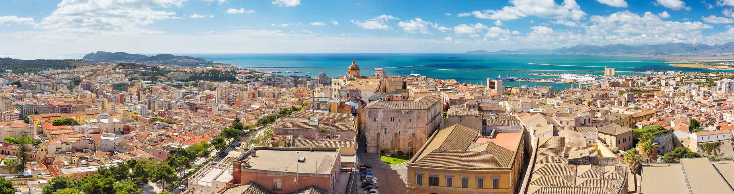 Cagliari, vista sulla città