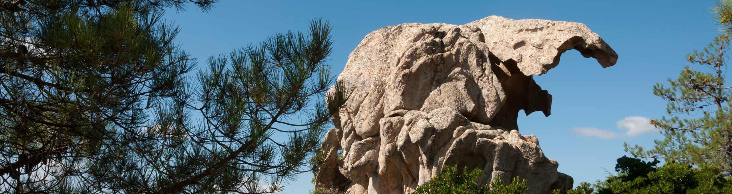 Telti, Gallura, scultura naturale