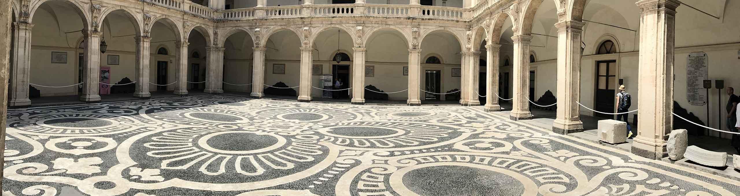 Catania, interno dell'università