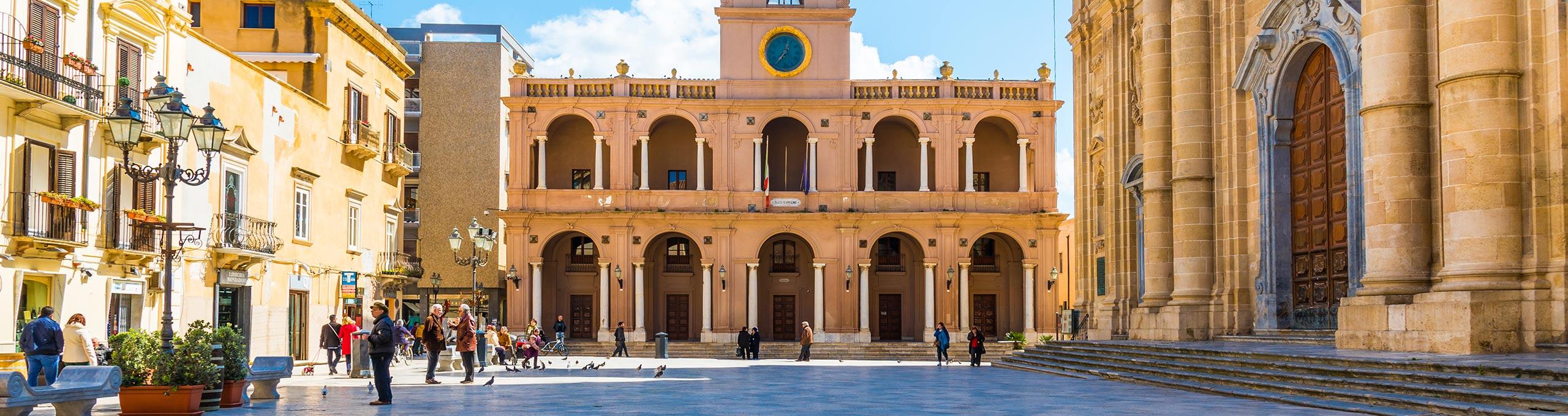 Marsala, Piazza della Repubblica