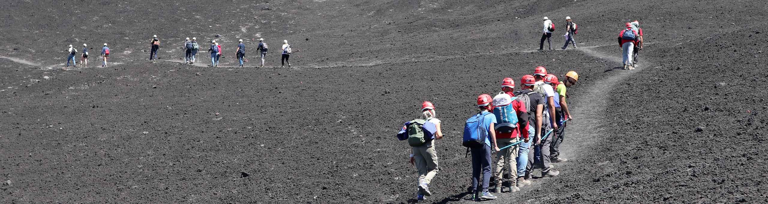 Trekking sull'Etna