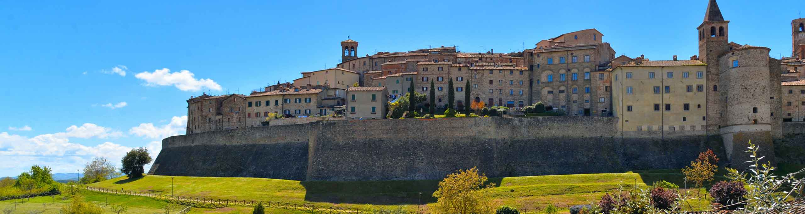 Borgo medievale di Anghiari in Valtiberina