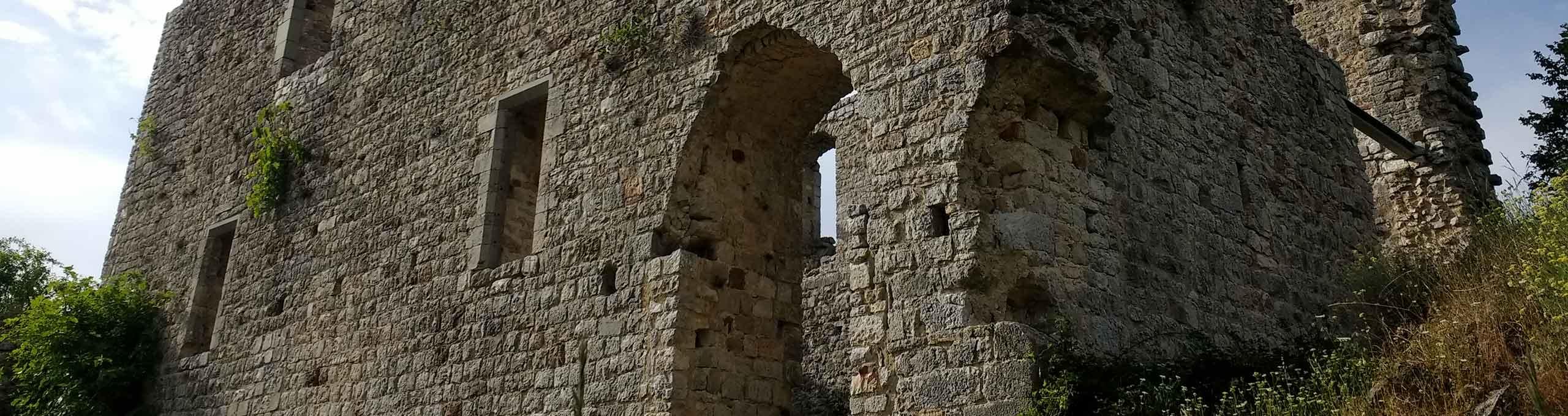Castello abbandonato Rocca Silena