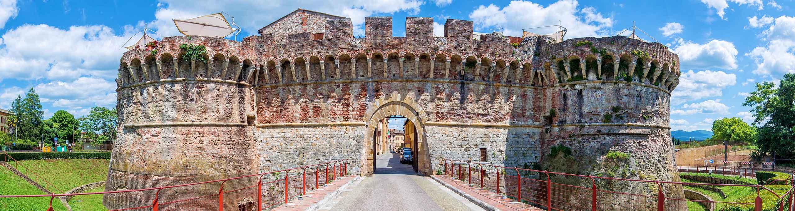 Porta d'accesso alla città nedievale