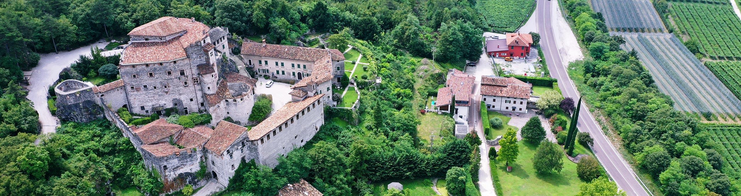 Vallagarina, Castel Pietra (XIII secolo) comune di Calliano