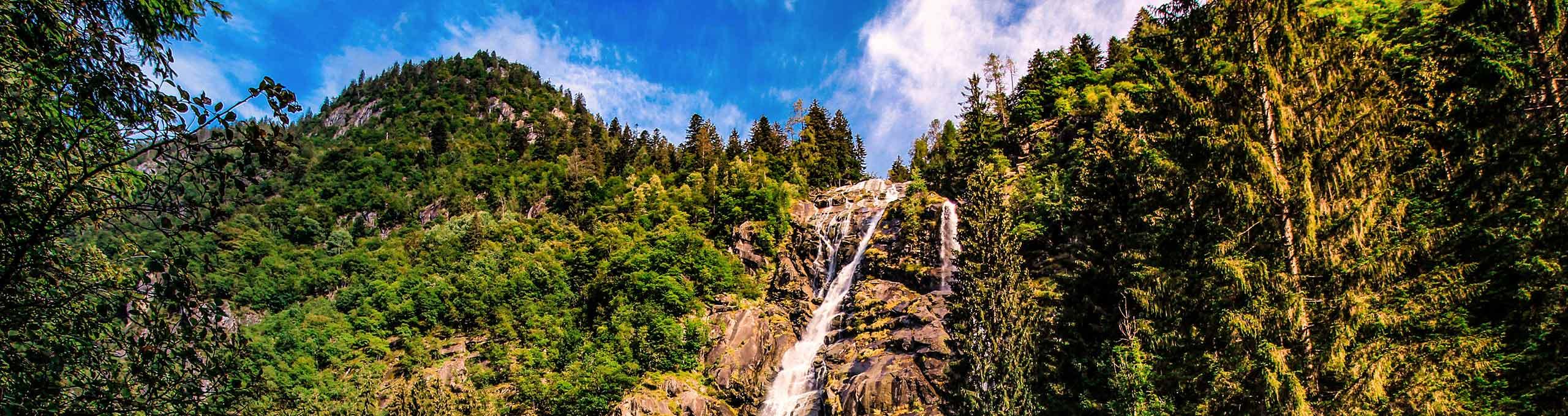 Cascata Nardis, sentiero delle cascate