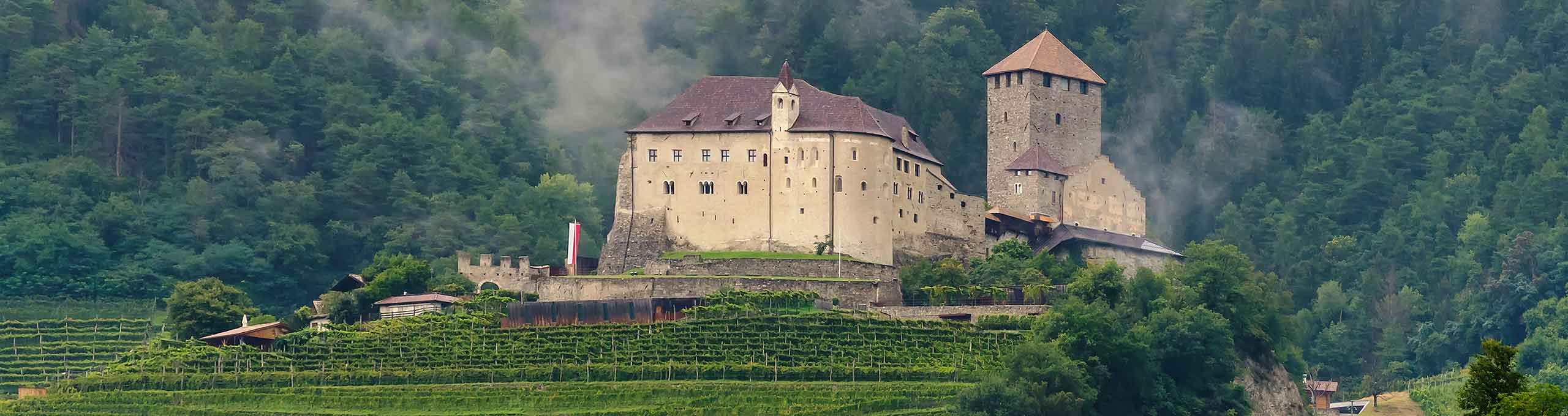 Castello Tirolo, in Germano Merano
