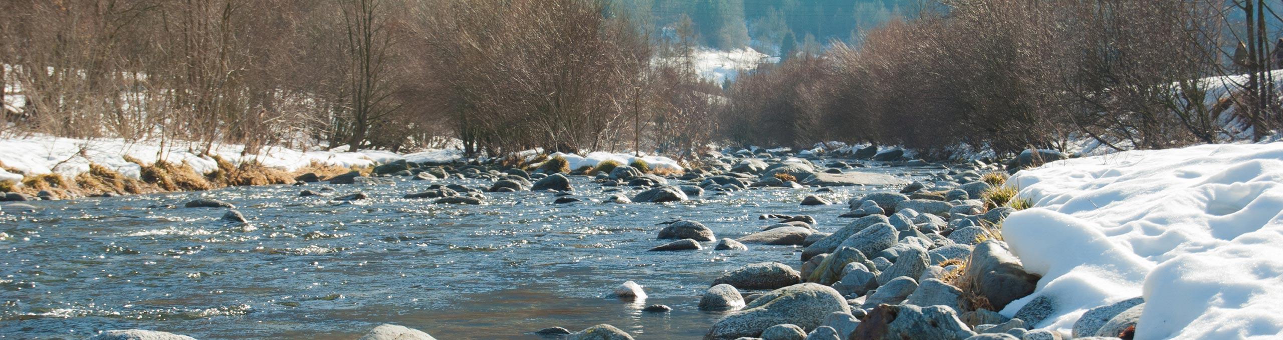 Val Rendena, il fiume Sarca