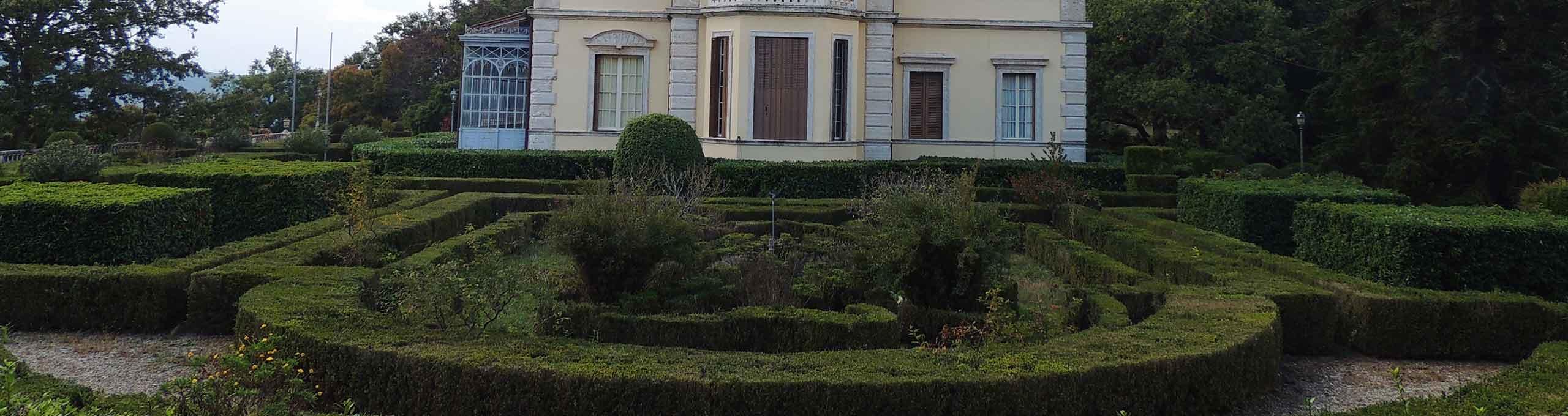 Villa Cahen, nel Parco Selva di Meana