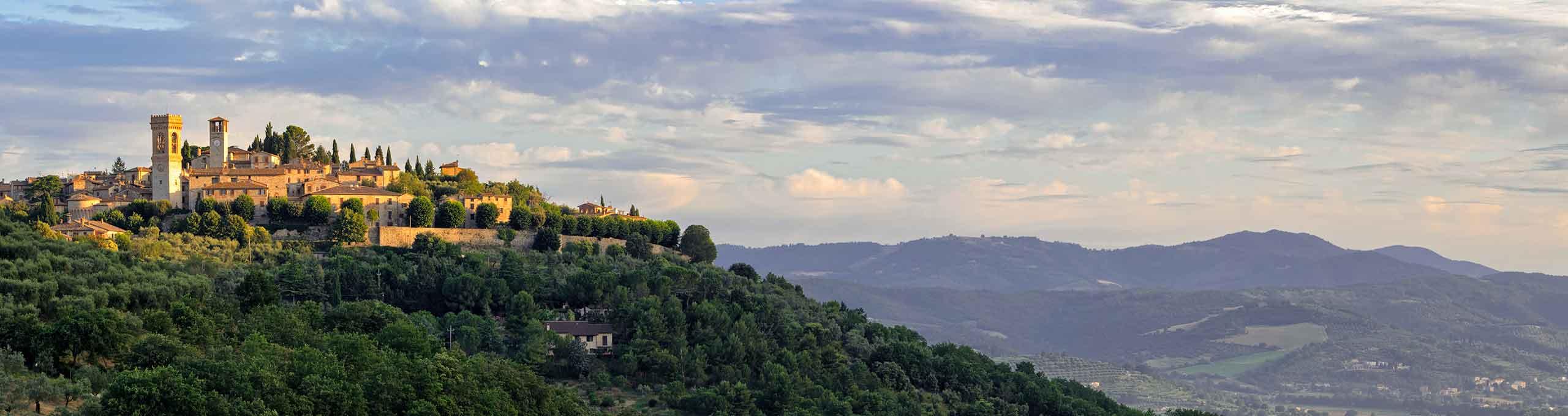 Corciano, Trasimeno, borgo medievale