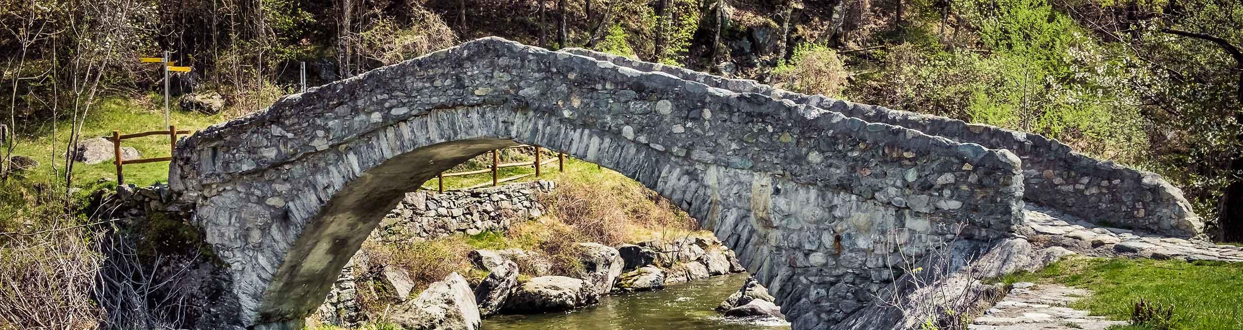 Ponte romano, Challand Saint Victor